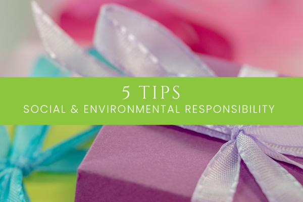 5 Ways to include Social & Environmental Responsibility in your next conference
