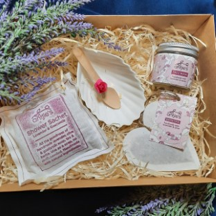Purple Blast Pamper Gift for Her