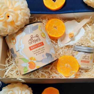 Orange Blast Pamper Gift for Her