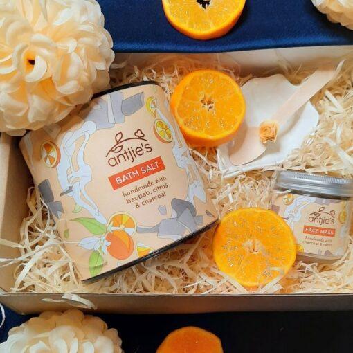 Orange Blast Pamper Gift for Her