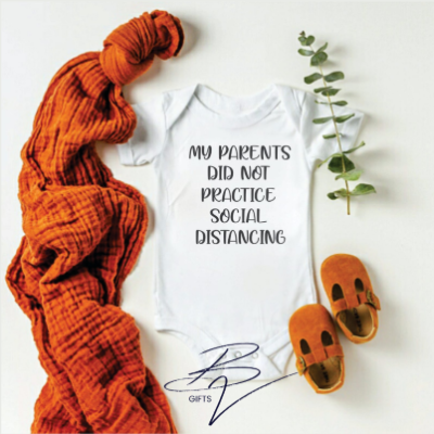 Coronial Babygro Did Not Practice Social Distancing