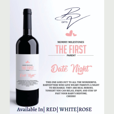 The First Parent Date Night wine